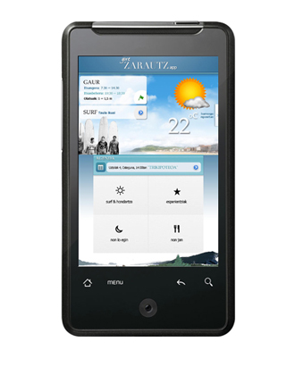 Zarautz APP: Android & Iphone aplikazioa